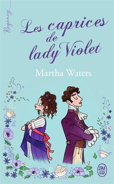 Couverture Les caprices de Lady Violet