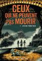 Couverture Ceux qui ne peuvent pas mourir, tome 2 : L'affaire Prometheus Editions Gallimard  (Jeunesse) 2021