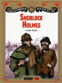 Couverture Sherlock Holmes Editions Nathan (Bibliothèque Rouge et or) 2006