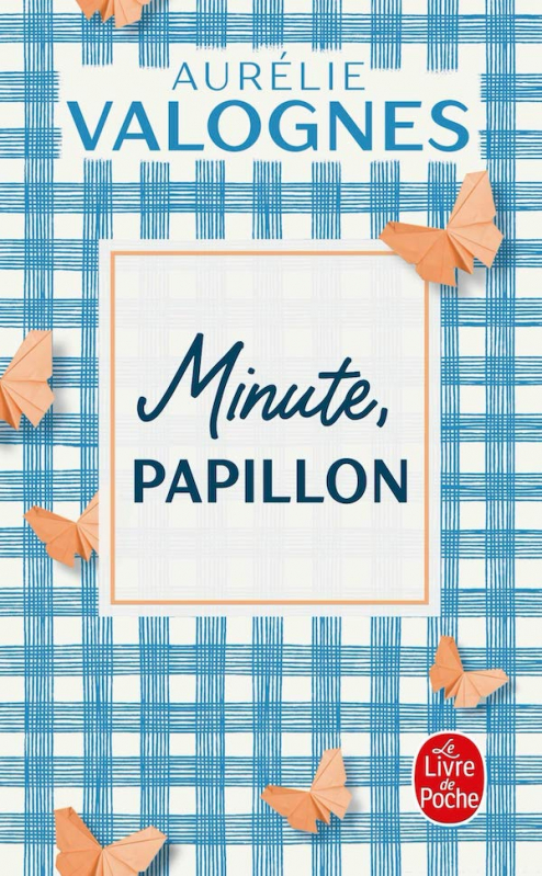 Couverture Minute, papillon !