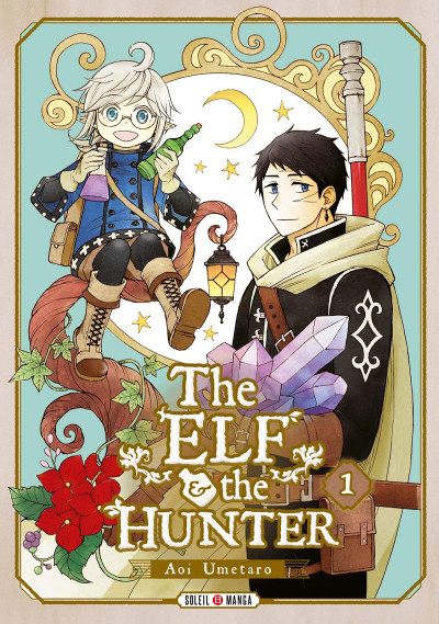 Couverture The elf and the hunter, tome 1