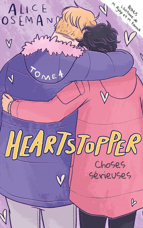 Couverture Heartstopper, tome 4 : Choses sérieuses