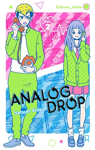 Couverture Analog Drop, tome 2