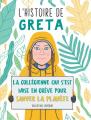 Couverture L'histoire de Greta Editions First (Document) 2020