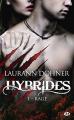 Couverture Hybrides, tome 01 : Rage Editions Milady (Bit-lit) 2018