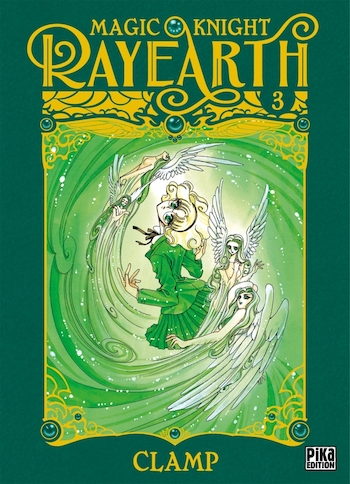 Couverture Magic Knight Rayearth, tome 3