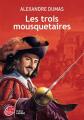 Couverture Les Trois Mousquetaires Editions Le Livre de Poche (Jeunesse) 2016