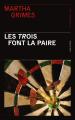 Couverture Jury et Plant, tome 25 : Les trois font la paire Editions Presses de la cité 2021