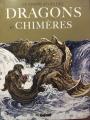 Couverture Le grand atlas des dragons et chimères Editions Glénat 2021