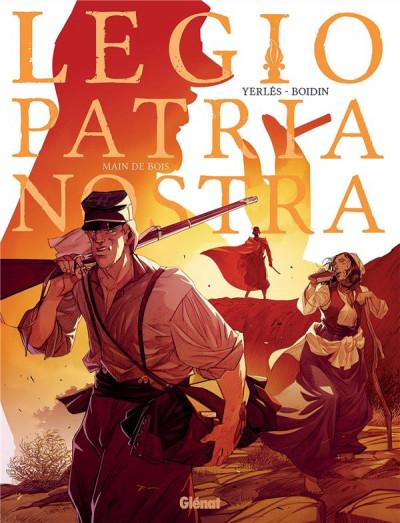 Couverture Legio Patria Nostra, tome 2 : Main de Bois