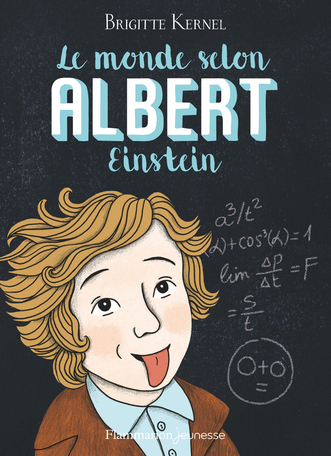 Couverture Le monde selon Albert Einstein