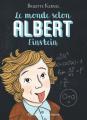 Couverture Le monde selon Albert Einstein  Editions Flammarion (Jeunesse) 2021