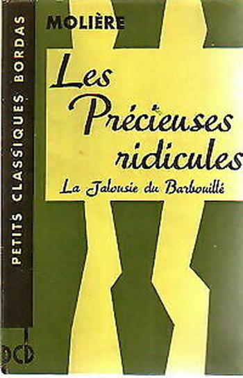 Couverture Les Précieuses ridicules : La Jalousie du Barbouillé