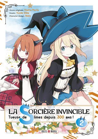 Couverture La Sorcière invincible, tome 2