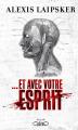 Couverture Et avec votre esprit  Editions Michel Lafon (Thriller) 2020