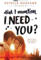 Couverture D.I.M.I.L.Y., tome 2 : Did I mention I need you ? Editions Sourcebooks 2016