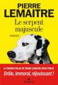 Couverture Le serpent majuscule Editions Albin Michel 2021