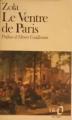 Couverture Le ventre de Paris Editions Folio  1979