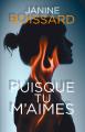 Couverture Puisque tu m'aimes  Editions France Loisirs 2020