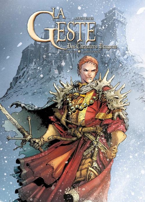 Couverture La Geste des Chevaliers Dragons, tome 30 : L'Ancienne