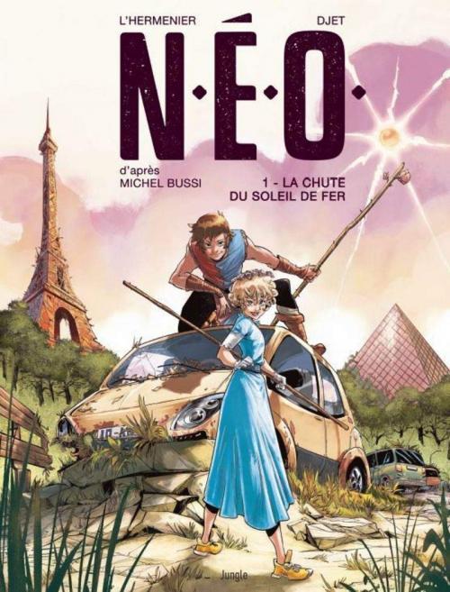 Couverture N.E.O., tome 1 : La chute du soleil de fer