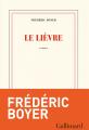 Couverture Le Lièvre Editions Gallimard  (Blanche) 2021