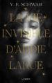 Couverture La vie invisible d'Addie Larue Editions Lumen 2021