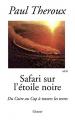 Couverture Safari noir Editions Grasset 2004