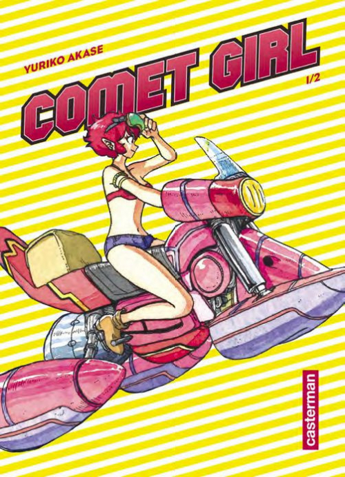 Couverture Comet girl, tome 1