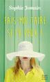 Couverture Fais-moi taire si tu peux ! Editions HarperCollins (Poche) 2020
