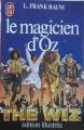 Couverture Le magicien d'Oz Editions J'ai Lu (Edition illustrée) 1984