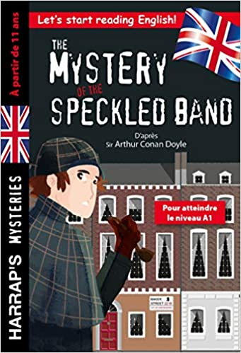 Couverture The mystery of the speckled band