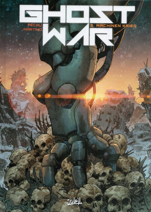 Couverture Ghost War, tome 3 : Machinen Krieg