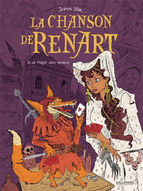 Couverture La Chanson de Renart, tome 2 : La Magie sans miracle