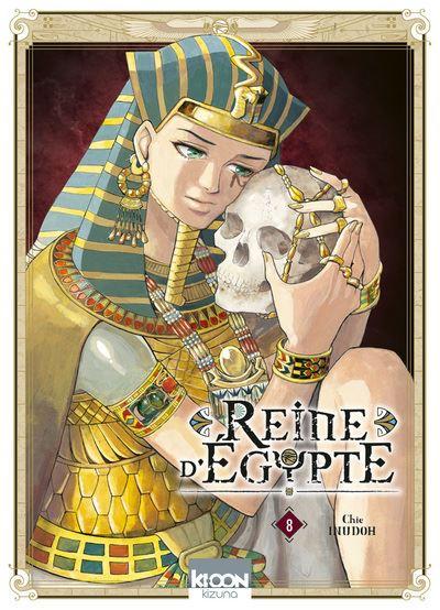 Couverture Reine d'Égypte (manga), tome 8