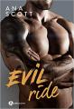 Couverture BlackAngels, tome 4 : Evil Ride Editions Addictives 2021