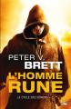 Couverture Le cycle des démons, tome 1 : L'homme rune Editions Bragelonne (Fantasy) 2015