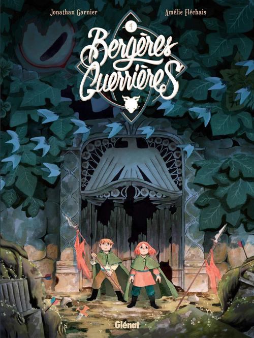 Couverture Bergères guerrières, tome 4 : L'abîme
