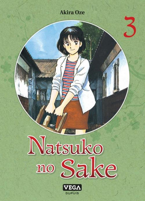 Couverture Natsuko no Sake, tome 3