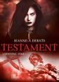 Couverture Testament, tome 1 : L'héritière Editions ActuSF 2014