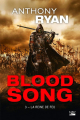 Couverture Blood song, tome 3 : La reine de feu Editions Bragelonne (Poche) 2019