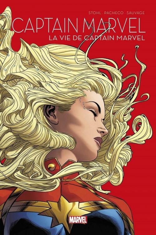 Couverture La vie de Captain Marvel