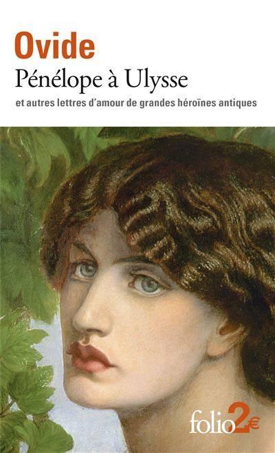 Couverture Pénélope à Ulysse et autres lettres d'amour de grandes héroïnes antiques