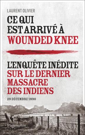 Couverture Ce qui est arrivé à Wounded Knee
