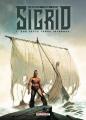 Couverture Sigrid, tome 1 : Sur cette terre inconnue Editions Delcourt (Conquistador) 2021