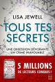 Couverture Tous tes secrets Editions Hauteville 2020
