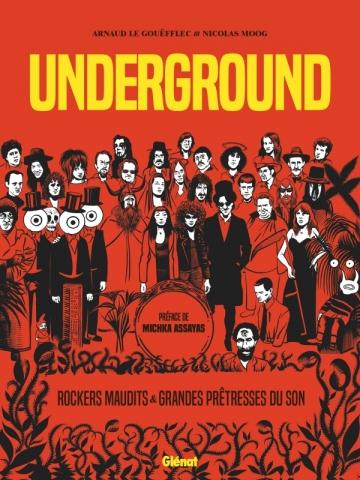 Couverture Underground : Grandes Prêtresses du Son et Rockers Maudits