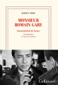 Couverture Monsieur Romain Gary Editions Gallimard  (Blanche) 2021