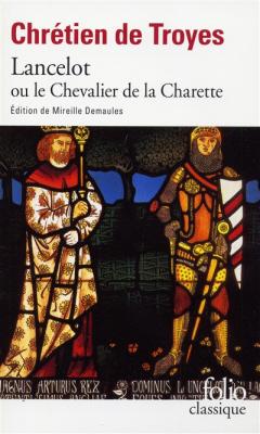 Couverture Lancelot, le chevalier de la charrette / Lancelot ou le chevalier de la charrette