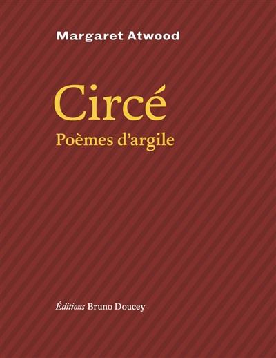 Couverture Circé : Poèmes d'argile